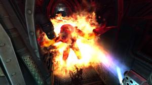 Огнемет в действии Space Hulk