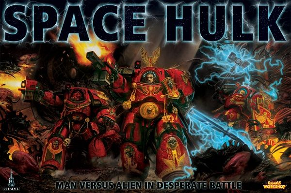 Обложка 3-й редакции настолки Space Hulk.