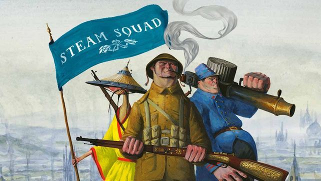 Steam Squad — релиз!