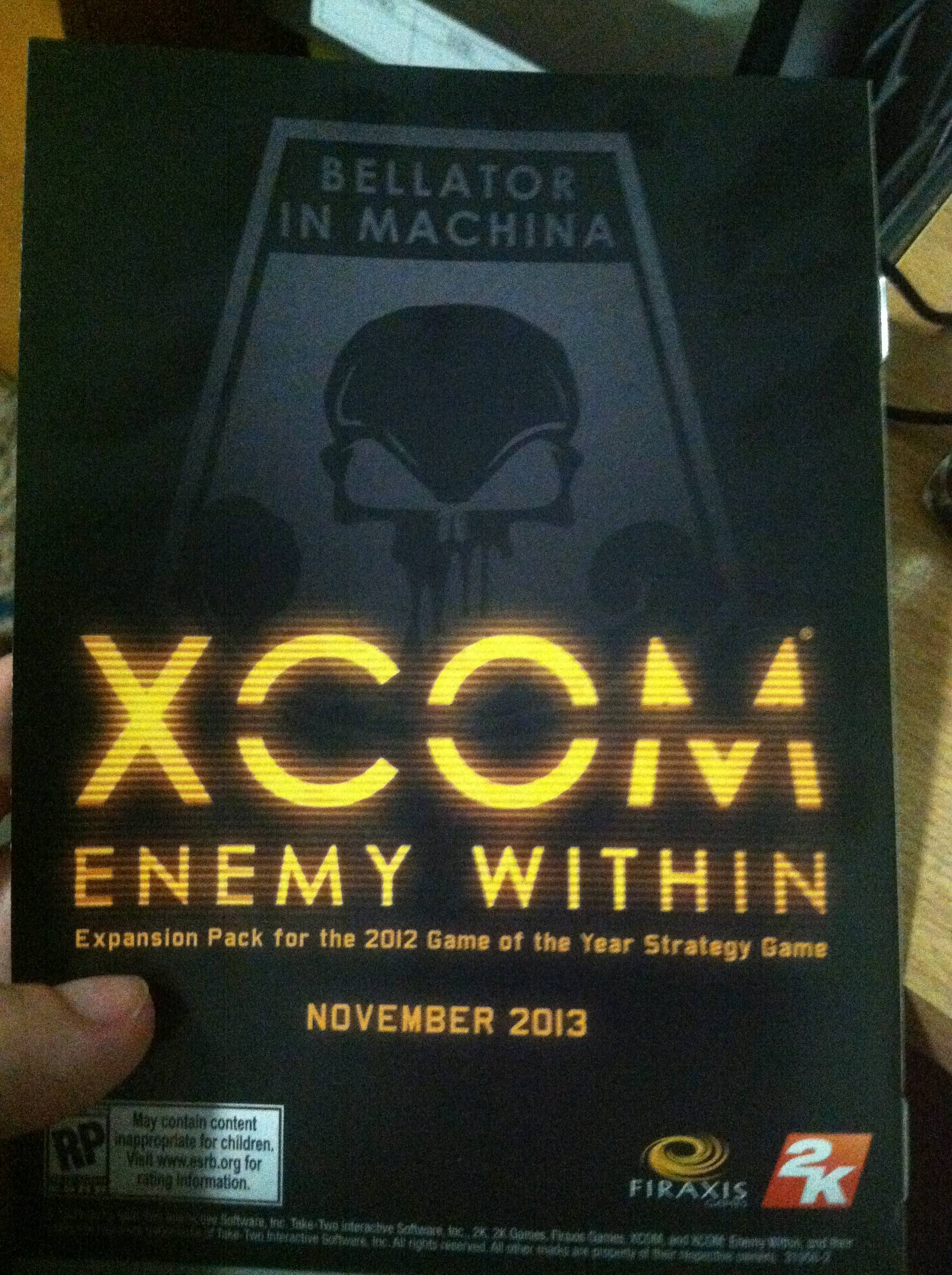 XCOM: Enemy Within предзаказ в Steam