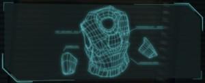 Скелетный скафандр