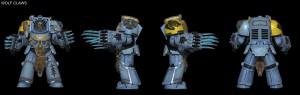 Space Hulk - Wolf Claws