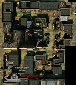 Arma Tactics Mission 1 map