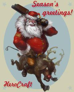 Дед Мороз от Hero Craft