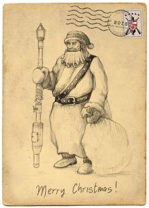 Дед Мороз от Steam Squad