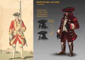 Outland 17 униформа солдат