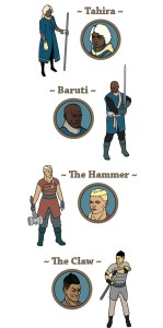 Персонажи Tahira