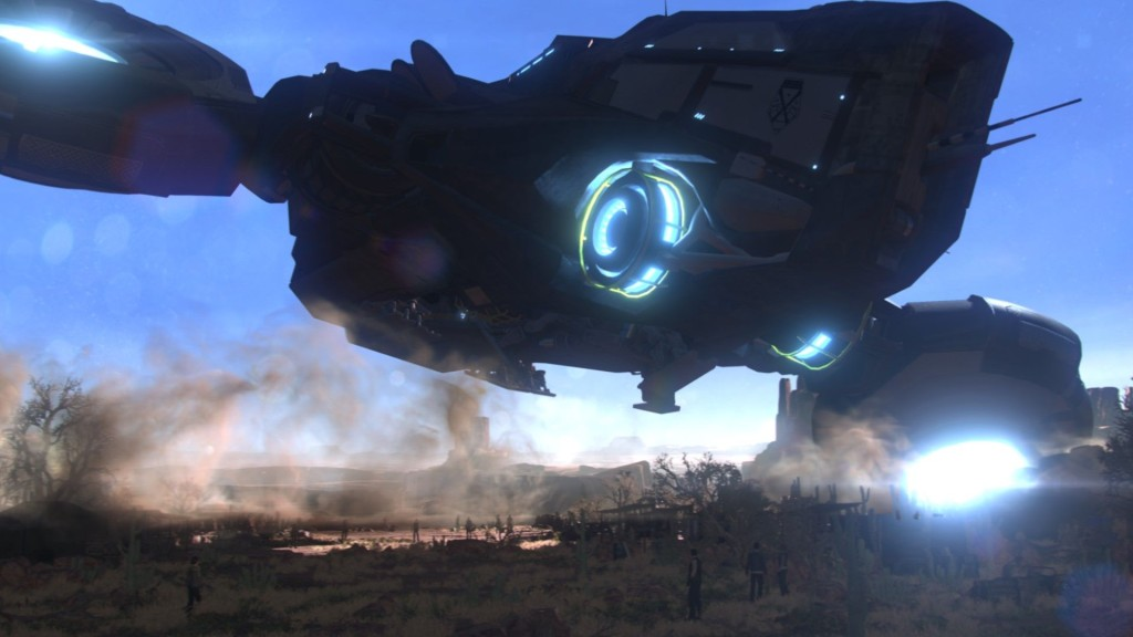 XCOM2 Avenger base