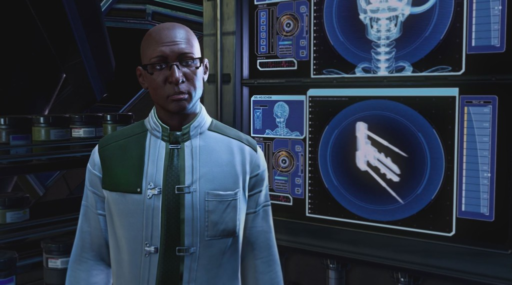 XCOM2 Dr. Richard Tygan