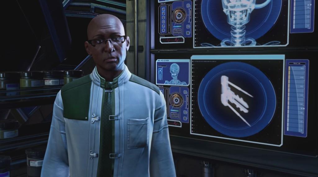 XCOM2 Dr. Richard Tygan
