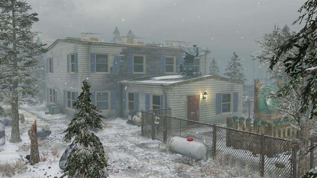 Снежок в маленьком городке.