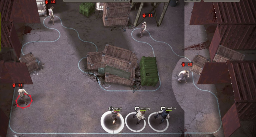 The Walking Dead: No Man's Land - Containing the Dead