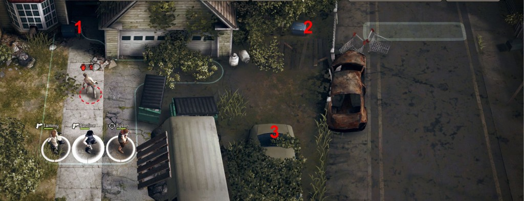 The Walking Dead No Man's Land - Suburbia