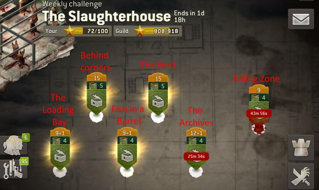 The Slaughterhouse - миссии