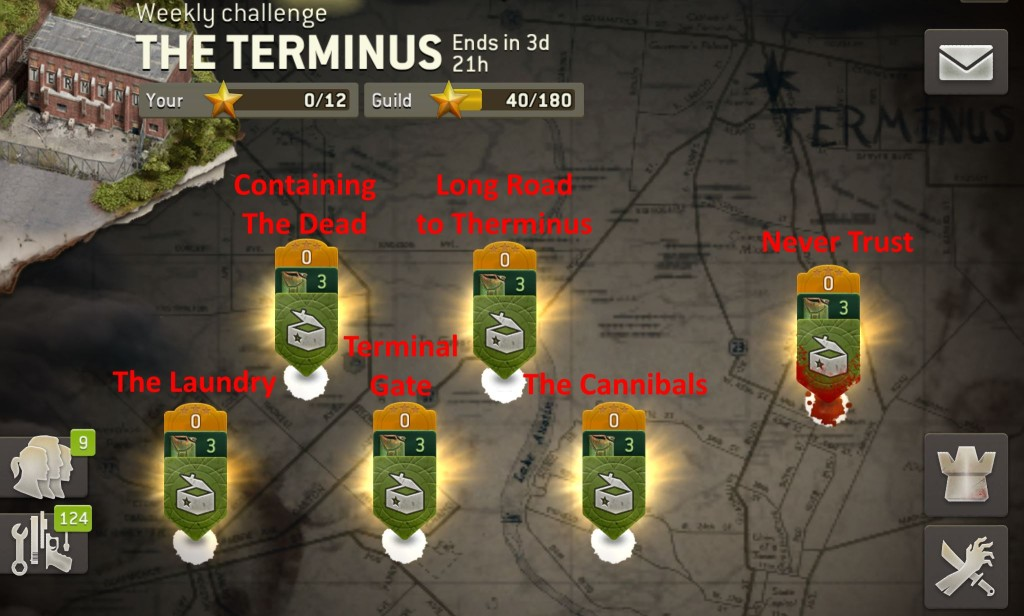 The Walking Dead: No Man's Land - The Terminus