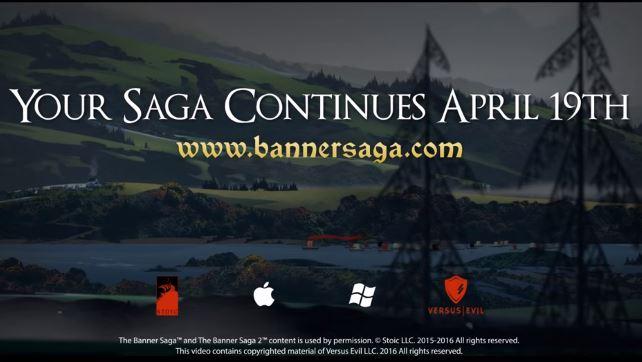 Скоро Banner Saga 2