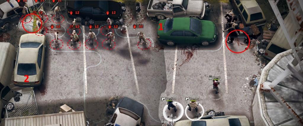 The Walking Dead: No Man's Land Car Crash