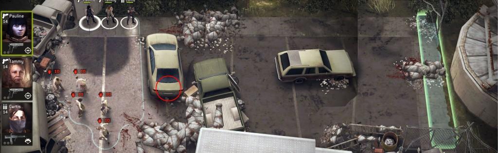 The Walking Dead: No Man's Land Push On
