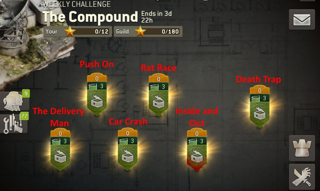 The Walking Dead: No Man's Land The Compound