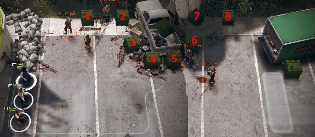 The Walking Dead: No Man's Land The Delivery Man