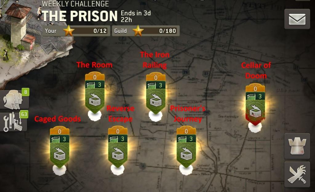 The Walking Dead: No Man's Land The Prison