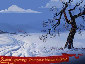 Новогоднее поздравление от авторов Banner Saga