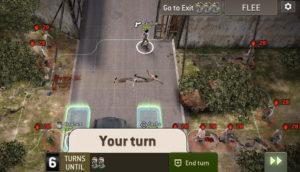 Миссия Разрушение ворот (Gate Crashing), 6 ход, пора уходить