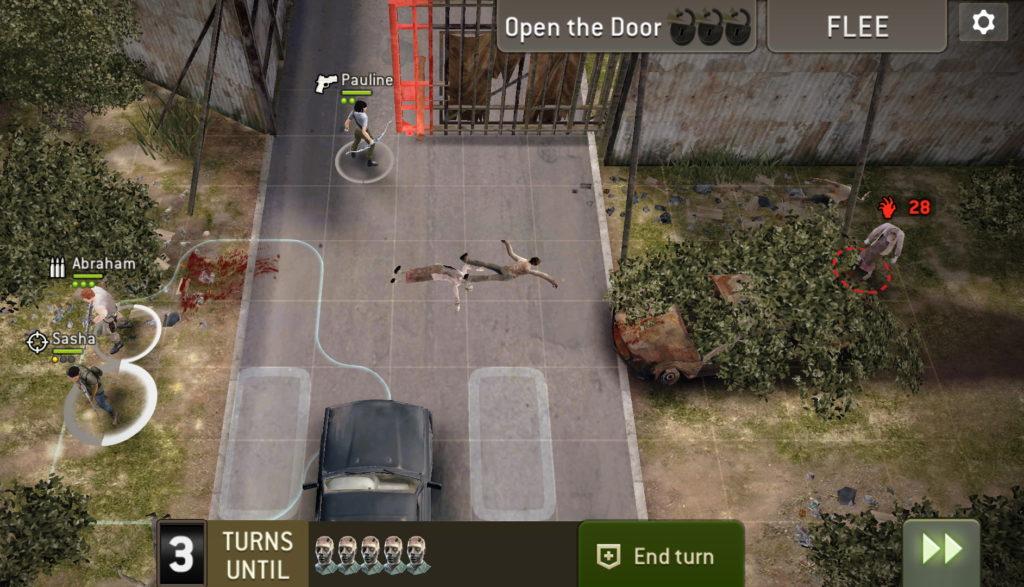 Миссия Разрушение ворот (Gate Crashing) блокировка ход 3