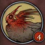 Окаменевший птенец