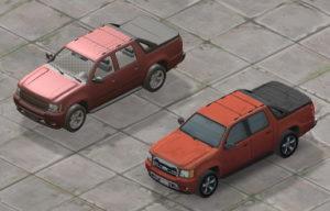 retextured vehicles